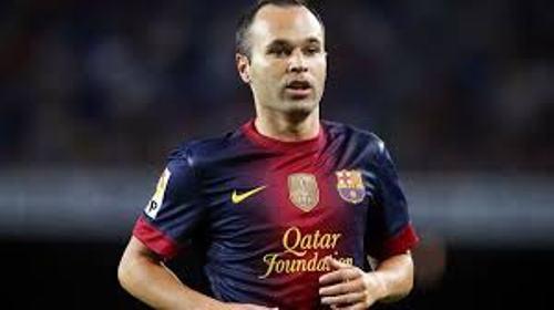 Andres Iniesta Football Player