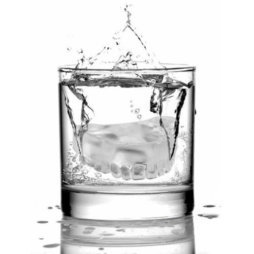 Ice Cube in a glass