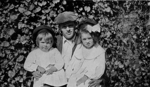 Jack London and Daughters