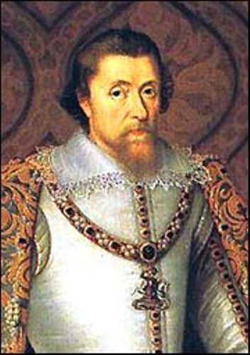 The failure of king james the 1st of england