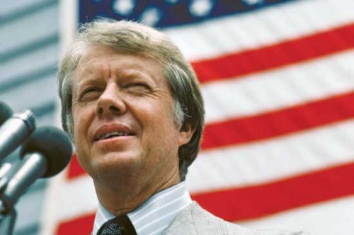 Jimmy Carter US President