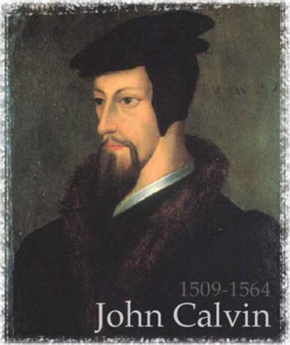 john calvin outline But it does mean that the mysteries which the old testament figures only glimpsed in shadowed outline are now manifest to us  interpreting john calvin: an .