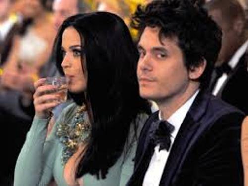 John Mayer and Katie Perry