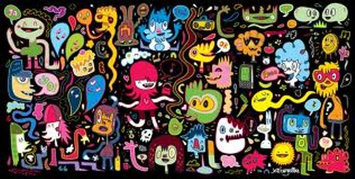 10 Interesting Jon Burgerman Facts My Interesting Facts