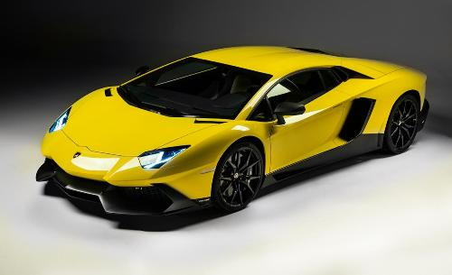 Lamborghini Yellow