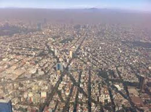 Mexico City from The top