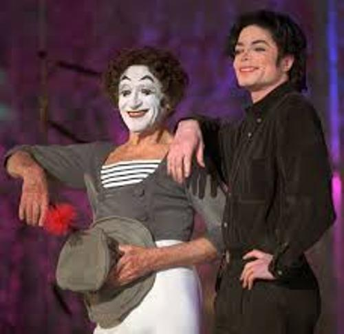 marcel marceau and jackson