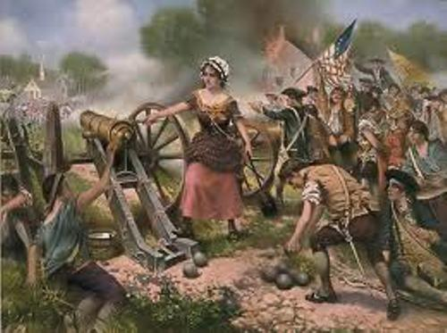 Molly Pitcher in War