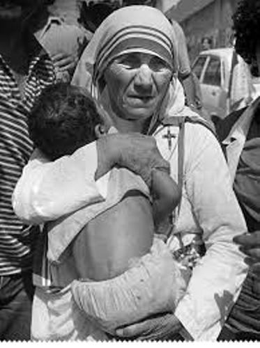 Mother Teresa Helping