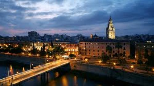 Murcia at Night