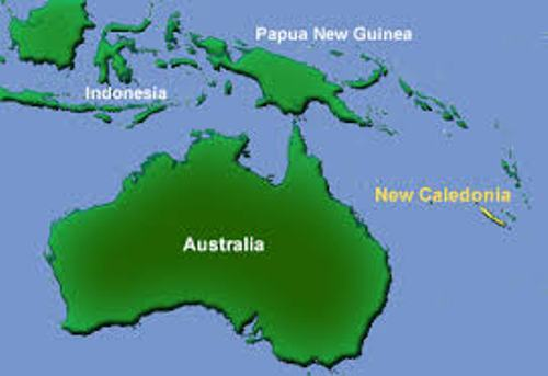 New Caledonia Maps