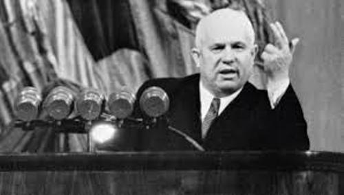 the rule of kruschev the leader of russia after stalins death