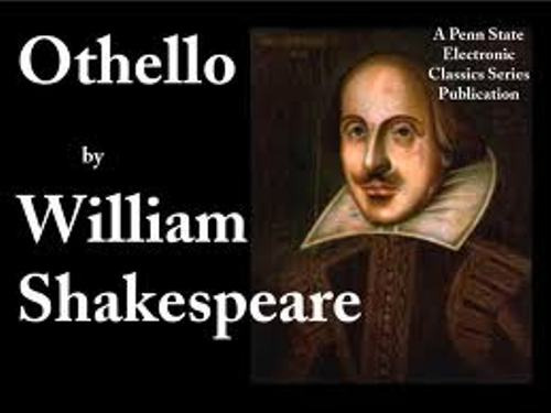 my reflections on shakespeares othello Shakespeare in mla format in quoting shorter passages in linear form, you still need to indicate line breaks when shakespeare is writing in verse: othello recalls.