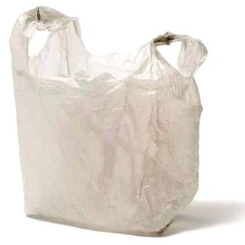 Plastic Bag White
