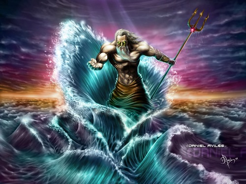 Poseidon God Of Sea