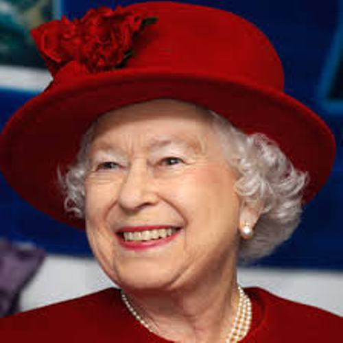 Queen Elizabeth 2 In Red