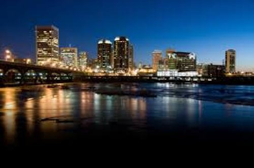 Richmond Virginia at Night