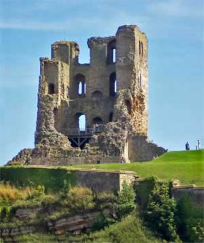 Scarborough Castle Ruin