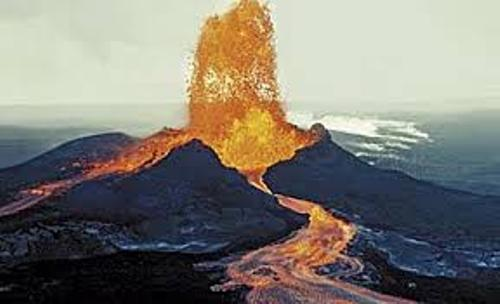 Shield Volcano Eruption