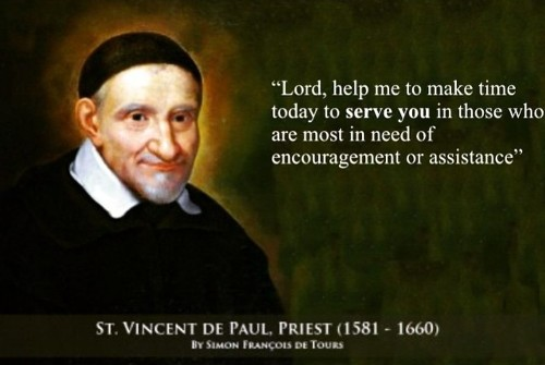 St Vincent de Paul Quote