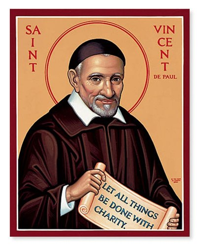 St Vincent de Paul facts