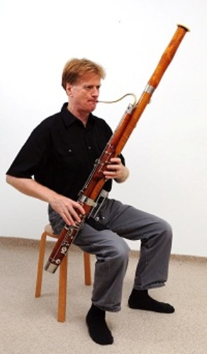 how to play the contrabassoon