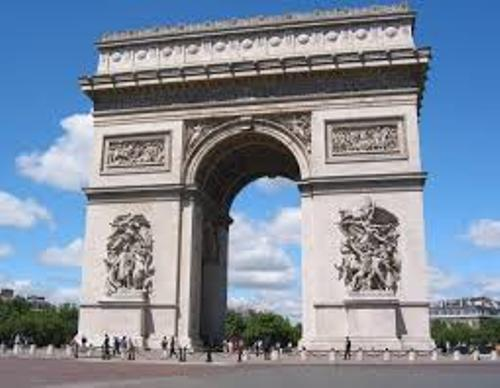 The Arc de Triomphe facts