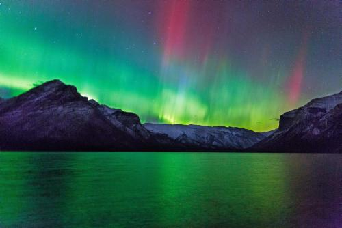 The Aurora Borealis in Canada