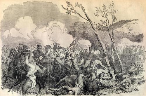 The Battle of Bull Run Image