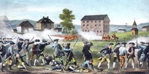 The Battle of Lexington and Concord Image