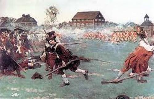 The Battle of Lexington and Concord Pic