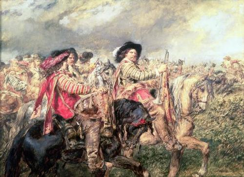 The Battle of Naseby 1645