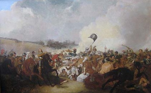 The Battle of Naseby