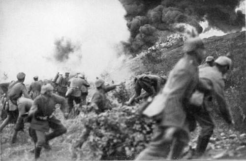 The Battle of Somme