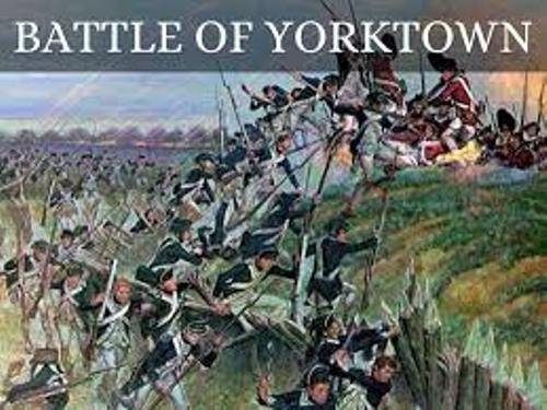 The Battle of Yorktown Pictures