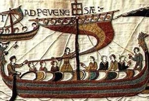 The Bayeux Tapestry Scene