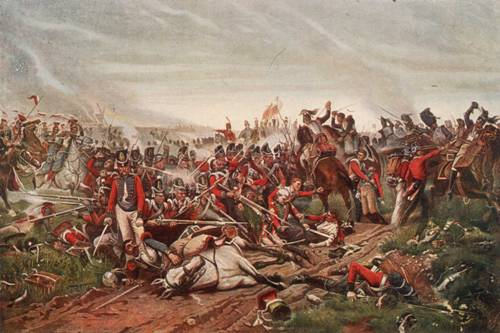 the Battle of Waterloo Pic