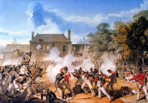 the Battle of Waterloo Picture