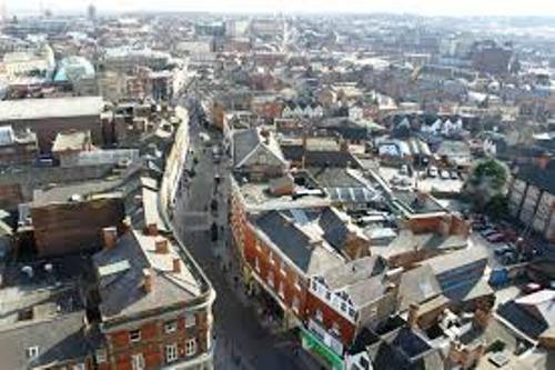 The City of Derby Skyline