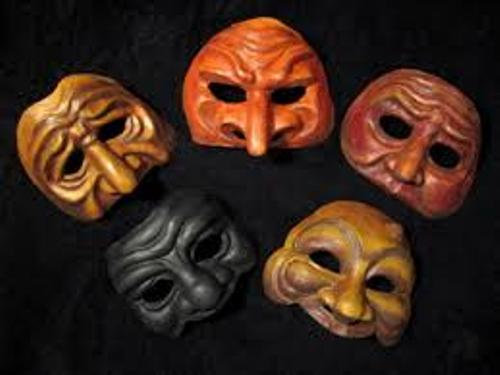 Commedia dell'arte Masks