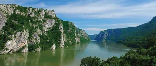 The Danube River Beauty