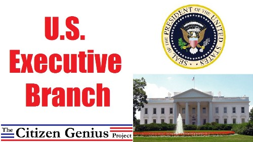 Facts about The Executive Branch