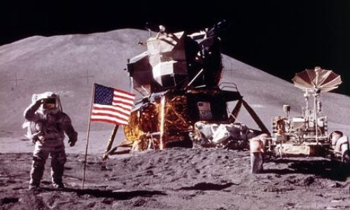 The First Moon Landing Images