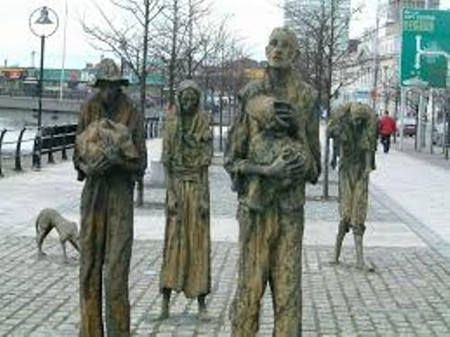 The Great Irish Famine Images