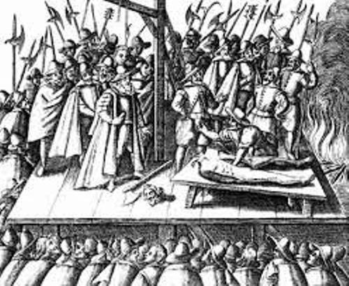 The Gunpowder Plot Execution