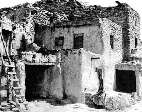 The Hopi Tribe House