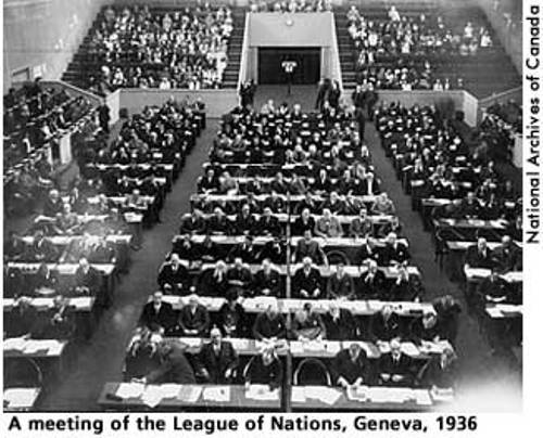 the league of nations and the Timeline adapted from: essential facts about the league of nations, tenth edition (revised), lon information section, geneva, 1939, pp 11-29.