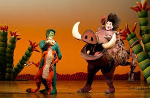 The Lion King Musical Photo