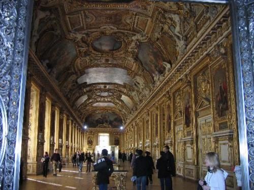 The Louvre Interior