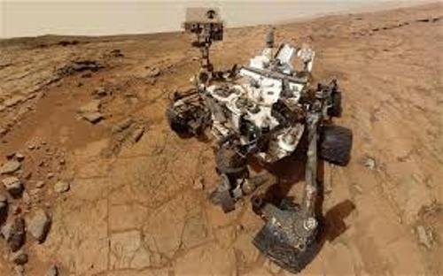 The Mars Rover Photo